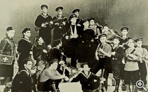 Фото спектакля «Севастопольский вальс», начало 60-х годов XX века.