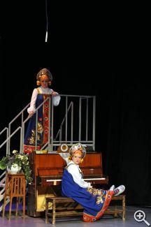 Музыкальная комедия в двух действиях «Баба Шанель»